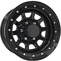 252-5185 Gloss Black Finish Wheel - 15 in. Wheel Diameter X 10 in. Wheel Width