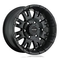 5001-7985 Satin black Finish Wheel - 17 in. Wheel Diameter X 9 in. Wheel Width