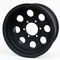 7069-7983 Matte Black Finish Wheel - 17 in. Wheel Diameter X 9 in. Wheel Width
