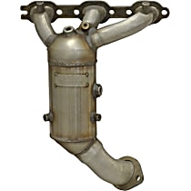 20445 Direct Fit 20445 Catalytic Converter, Aluminized Steel, Manifold Converter, 48-State Legal (Cannot Ship to CA or NY)