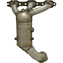 Eastern 48-State Direct Fit 20445 Catalytic Converter, Aluminized Steel, Manifold Converter, 48-State Legal (Cannot Ship to CA or NY)