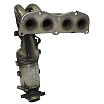 40821 Catalytic Converter - 46-State Legal (Cannot ship to CA, CO, NY or ME) - Front
