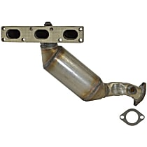 Catalytic Converter - 47-State Legal (Cannot ship to CA, NY or ME) - Rear