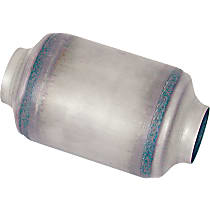 Eastern Standard 72214 Catalytic Converter, Aluminized Steel, Semi-Universal (Welding Required), 48-State Legal (Cannot Ship to CA or NY)