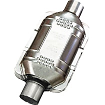83164 ECO II Catalytic Converter, Aluminized Steel, Semi-Universal (Welding Required), 48-State Legal (Cannot Ship to CA or NY)
