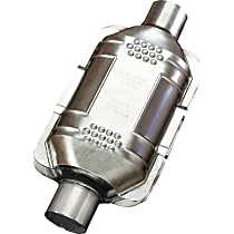 ECO II Catalytic Converter, Aluminized Steel, Semi-Universal (Welding Required), 48-State Legal (Cannot Ship to CA or NY)