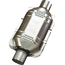 83165 ECO II Catalytic Converter, Aluminized Steel, Semi-Universal (Welding Required), 48-State Legal (Cannot Ship to CA or NY)