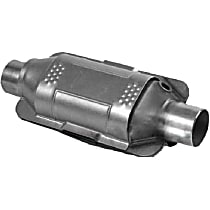 83717 ECO II Catalytic Converter, Aluminized Steel, Universal (Welding Required), 48-State Legal (Cannot Ship to CA or NY)