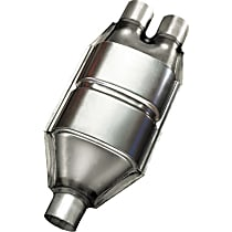 Eastern ECO II 85346 Catalytic Converter, Aluminized Steel, Semi-Universal (Welding Required), 48-State Legal (Cannot Ship to CA or NY)