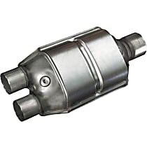 ECO II Catalytic Converter, Aluminized Steel, Universal (Welding Required), 48-State Legal (Cannot Ship to CA or NY)
