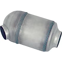 Eastern ECO III 92224 Catalytic Converter, Aluminized Steel, Universal (Welding Required), 48-State Legal (Cannot Ship to CA or NY)