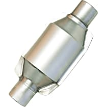92464 ECO III Catalytic Converter, Aluminized Steel, Semi-Universal (Welding Required), 48-State Legal (Cannot Ship to CA or NY)