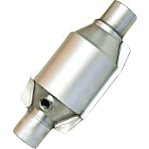 Eastern ECO III 92665 Catalytic Converter, Aluminized Steel, Universal (Welding Required), 48-State Legal (Cannot Ship to CA or NY)
