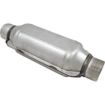 ECO III Catalytic Converter, Aluminized Steel, Semi-Universal (Welding Required), 48-State Legal (Cannot Ship to CA or NY)
