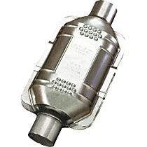 Eastern ECO III 93166 Catalytic Converter, Aluminized Steel, Semi-Universal (Welding Required), 48-State Legal (Cannot Ship to CA or NY)