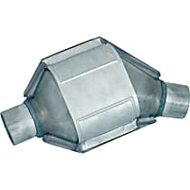 Eastern ECO III 93425 Catalytic Converter, Aluminized Steel, Semi-Universal (Welding Required), 48-State Legal (Cannot Ship to CA or NY)