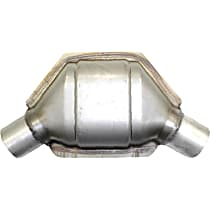 ECO III Catalytic Converter, Aluminized Steel, Universal (Welding Required), 48-State Legal (Cannot Ship to CA or NY)