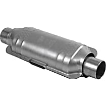 Eastern ECO GM 99177 Catalytic Converter, Aluminized Steel, Semi-Universal (Welding Required), 48-State Legal (Cannot Ship to CA or NY)