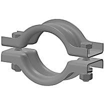Eastern Exhaust EE8627 Exhaust Clamp - Direct Fit, Sold individually