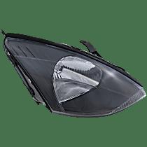 Passenger Side Halogen Headlight, With bulb(s) - Non-SVT Models, Clear Lens, Gray Interior