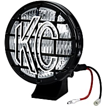 KC Hilites 1452 Offroad Light - Black, PolyMax, Sold individually