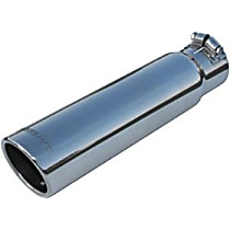 Flowmaster 15361 Exhaust Tip - Polished, Stainless Steel, Single, Universal, Sold individually