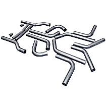 15936 Tail Pipe - Natural, Aluminized Steel, Universal, Kit