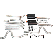 Flowmaster American Thunder - 1964-1974 Header-Back Exhaust System - Made of Aluminized Steel