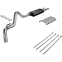 Flowmaster - 1988-1992 Cat-Back Exhaust System - Made of Aluminized Steel
