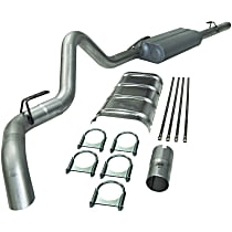 17126 Flowmaster Force II - 1988-1992 Cat-Back Exhaust System - Made of Aluminized Steel