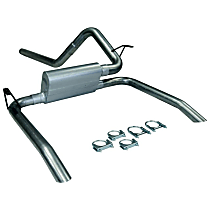 17133 Flowmaster American Thunder - 1995-1997 Cat-Back Exhaust System - Made of Aluminized Steel