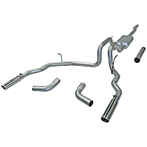 17418 Force II Series - 2004-2008 Cat-Back Exhaust System - Made of Aluminized Steel