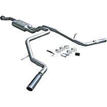 17419 Flowmaster American Thunder - 2004-2006 Cat-Back Exhaust System - Made of Aluminized Steel