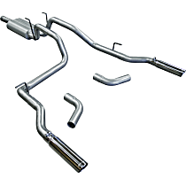 17423 Flowmaster American Thunder - 2006-2008 Dodge Ram 1500 Cat-Back Exhaust System - Made of Aluminized Steel