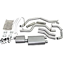 17425 Flowmaster American Thunder - 2000-2006 Toyota Tundra Cat-Back Exhaust System - Made of Aluminized Steel