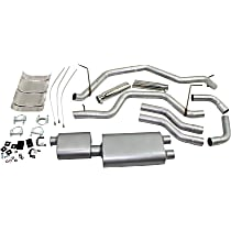 Flowmaster - 2000-2006 Toyota Tundra Cat-Back Exhaust System - Made of Aluminized Steel