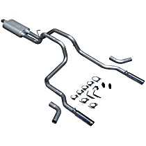 17429 Flowmaster American Thunder - 1994-2001 Dodge Ram 1500 Cat-Back Exhaust System - Made of Aluminized Steel
