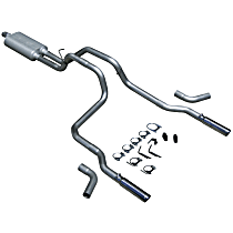 Flowmaster American Thunder - 1994-2001 Dodge Ram 1500 Cat-Back Exhaust System - Made of Aluminized Steel