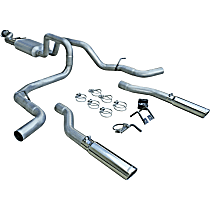 17435 Flowmaster American Thunder - 1999-2007 Cat-Back Exhaust System - Made of Aluminized Steel