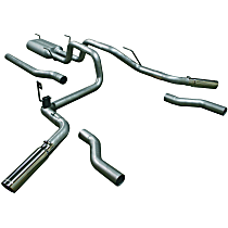 17438 Flowmaster American Thunder - 2003-2008 Dodge Cat-Back Exhaust System - Made of Aluminized Steel