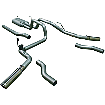 Flowmaster American Thunder - 2003-2008 Dodge Cat-Back Exhaust System - Made of Aluminized Steel