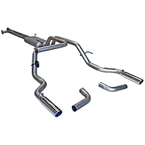 Flowmaster - 2007-2009 Toyota Tundra Cat-Back Exhaust System - Made of Aluminized Steel
