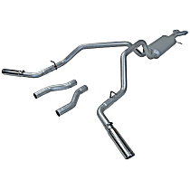 17468 Flowmaster American Thunder - 1996-1999 Cat-Back Exhaust System - Made of Aluminized Steel