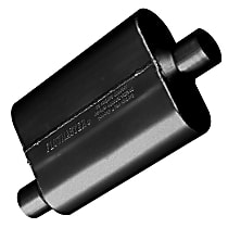 Flowmaster - 1960-2010 Black Muffler - May Require Minor Modification