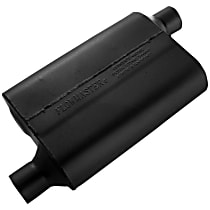 Flowmaster - 1966-2014 Black Muffler - May Require Minor Modification