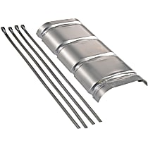 51022 Heat Shield - Natural, Universal
