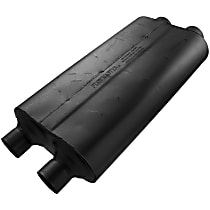 Flowmaster - 2001-2004 Chevrolet Black Muffler - May Require Minor Modification
