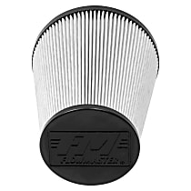 Flowmaster 615012D Universal Air Filter - Synthetic, Dry, Universal, Sold individually