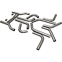 815936 Tail Pipe - Natural, Stainless Steel, Universal, Kit