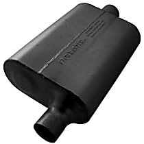 Flowmaster - 1960-2007 Black Muffler - May Require Minor Modification